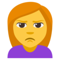 Person Pouting on EmojiOne 3.1