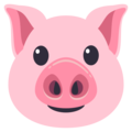 how to make a pig emoji