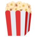 Popcorn on EmojiOne 3.1