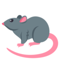 Rat on EmojiOne 3.1