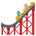 Roller Coaster on EmojiOne 3.1