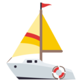 Sailboat on EmojiOne 3.1