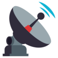 Satellite Antenna on EmojiOne 3.1