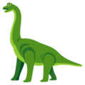 Sauropod on EmojiOne 3.1
