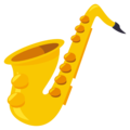 Saxophone on EmojiOne 3.1