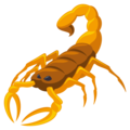 Scorpion on EmojiOne 3.1