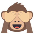 See-No-Evil Monkey on EmojiOne 3.1