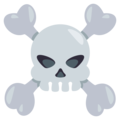 Skull and Crossbones on EmojiOne 3.1