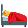 Person in Bed on EmojiOne 3.1