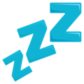 Zzz on EmojiOne 3.1