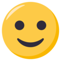 Slightly Smiling Face on EmojiOne 3.1