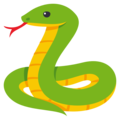Snake on EmojiOne 3.1