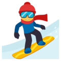 Snowboarder on EmojiOne 3.1