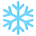 Snowflake on EmojiOne 3.1