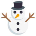 Snowman Without Snow on EmojiOne 3.1