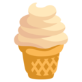 Soft Ice Cream on EmojiOne 3.1
