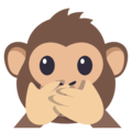 Speak-No-Evil Monkey on EmojiOne 3.1