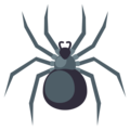 Spider on EmojiOne 3.1