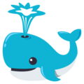 Spouting Whale on EmojiOne 3.1