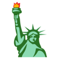 Statue of Liberty on EmojiOne 3.1