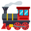 Locomotive on EmojiOne 3.1