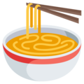 Steaming Bowl on EmojiOne 3.1