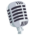 Studio Microphone on EmojiOne 3.1