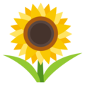 Sunflower on EmojiOne 3.1
