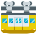 Suspension Railway on EmojiOne 3.1