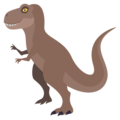 T-Rex on EmojiOne 3.1