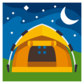 Tent on EmojiOne 3.1