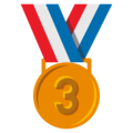 3rd Place Medal on EmojiOne 3.1