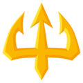 Trident Emblem on EmojiOne 3.1