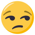 Unamused Face on EmojiOne 3.1