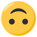 Upside-Down Face on EmojiOne 3.1