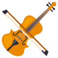 Violin on EmojiOne 3.1