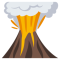 Volcano on EmojiOne 3.1