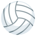 Volleyball on EmojiOne 3.1
