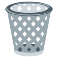 Wastebasket on EmojiOne 3.1