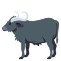 Water Buffalo on EmojiOne 3.1