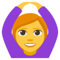 Woman Gesturing OK on EmojiOne 3.1