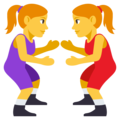 Women Wrestling on EmojiOne 3.1