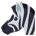 Zebra on EmojiOne 3.1