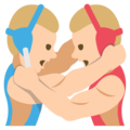 Wrestlers, Type-3 on EmojiOne 2.2.5