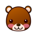 Bear Face on emojidex 1.0.33
