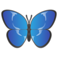 Butterfly on emojidex 1.0.33