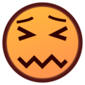 Confounded Face on emojidex 1.0.33