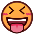 Face With Stuck-Out Tongue & Closed Eyes on emojidex 1.0.33