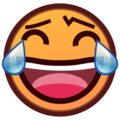 Face With Tears of Joy on emojidex 1.0.33