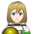 Woman Astronaut: Light Skin Tone on emojidex 1.0.33